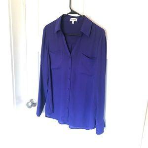 Express Portfino purple shirt
